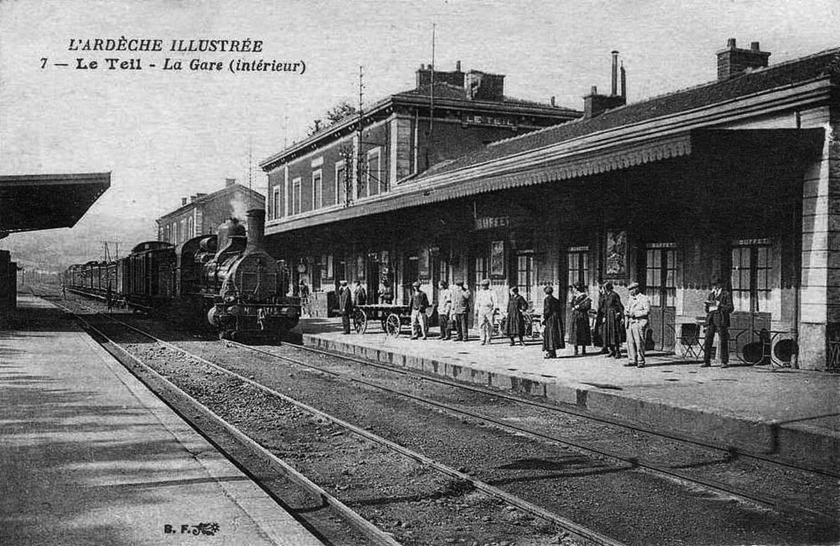 Le Teil gare