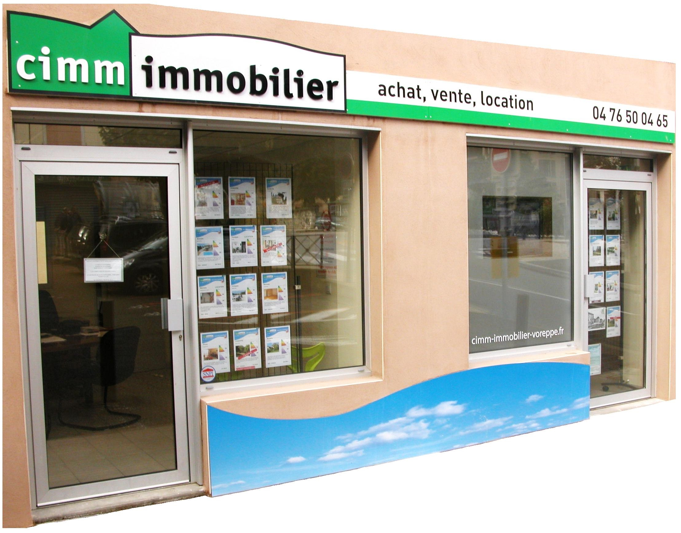 Agence cimm immobilier voreppe