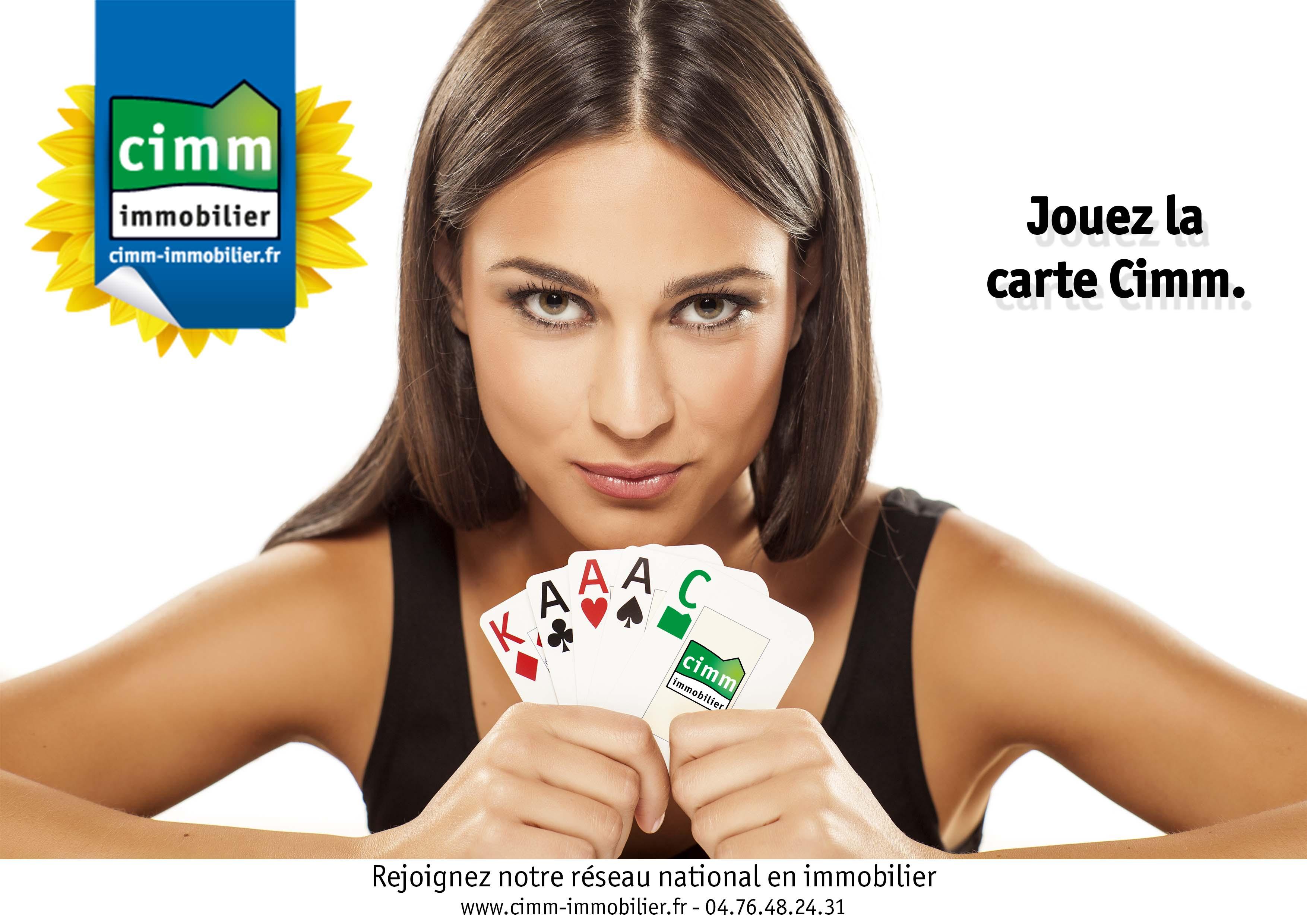 Jouez la carte Cimm Immobilier
