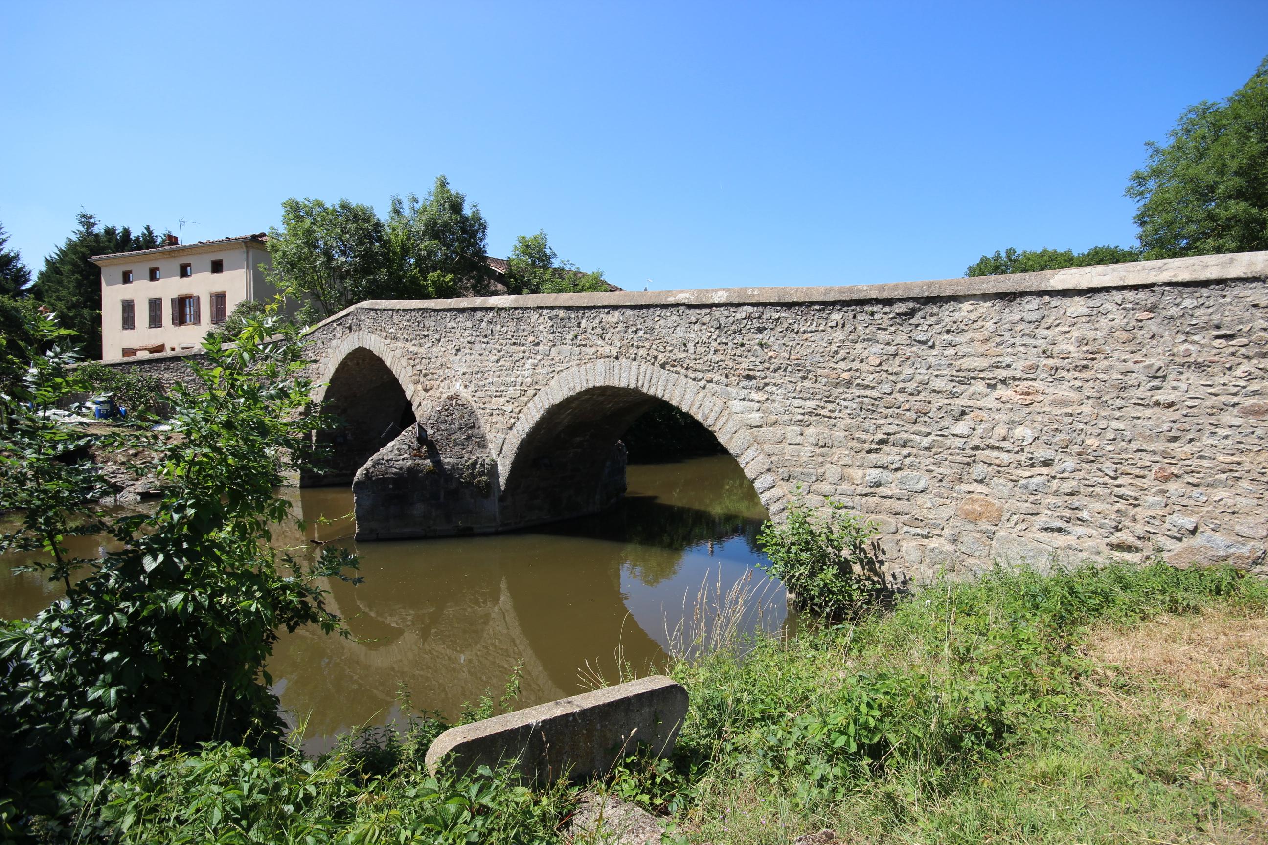 Pont de la Loire à Veauchette