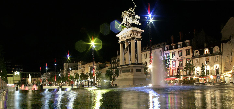 Vie nocturne fête Clermont Ferrand immobilier